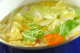 白菜のからし和えの作り方1