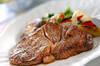 ステーキの作り方の手順