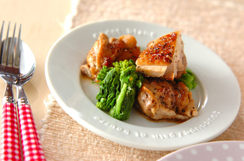 鶏肉のハーブソルト炒め
