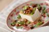 ザーサイ豆腐の作り方の手順