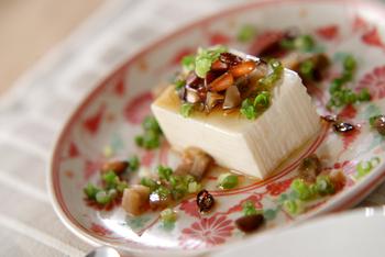 ザーサイ豆腐