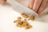 ザーサイ豆腐の下準備2