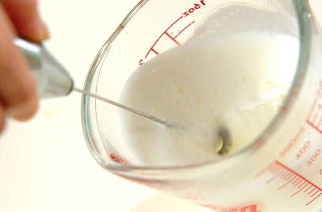 抹茶チョコラテの作り方の手順4