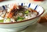 ウナギの混ぜ寿司