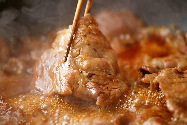 豚肉のショウガ焼きの作り方の手順9