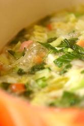カレー風味のミネストローネの作り方2