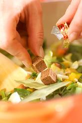 カレー風味のミネストローネの作り方1