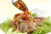 鶏肉の蒸し煮ネギソースの作り方6