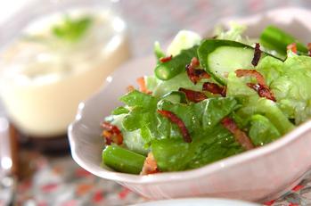 シャキシャキグリーンサラダ