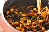 大豆入りヒジキ煮の作り方2