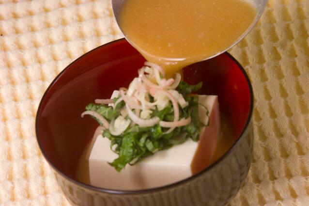 冷やしゴマ汁の作り方の手順6