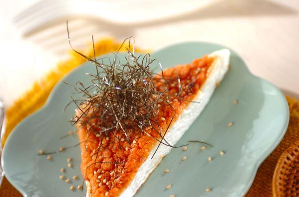 ハンペンのタラマヨ焼きの画像