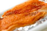 ハンペンのタラマヨ焼きの作り方1