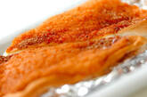 ハンペンのタラマヨ焼きの作り方3