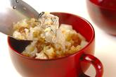 カキ雑炊の作り方3