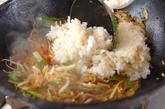 激辛カルビ五穀米チャーハンの作り方3