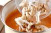 キノコのスープの作り方の手順2