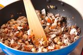 うどんの甜麺醤あんかけの作り方2