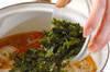 アオサのスープの作り方の手順4