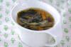 アオサのスープ
