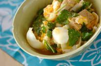 ユリネと高野豆腐の卵とじ