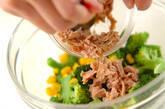 ブロッコリーとコーンのサラダの作り方4