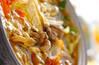 あったか和風カレー鍋の作り方の手順