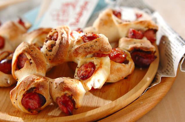 簡単も本格も!ソーセージを使ったパンの作り方・レシピ10選の画像