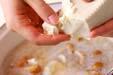 くずし豆腐のおろし汁の作り方3