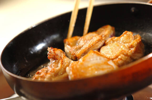 鶏肉とキノコのトマトソース煮込みの作り方の手順6