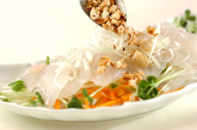 お刺身サラダの作り方の手順7