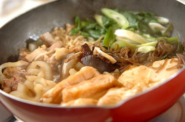 鶏肉のすき焼き風の作り方の手順11