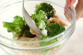 ブロッコリータラコ豆腐ソース和えの作り方2