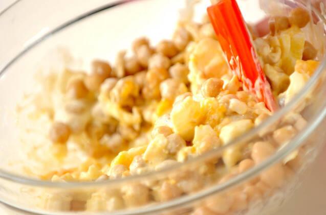 卵のサラダの作り方の手順5