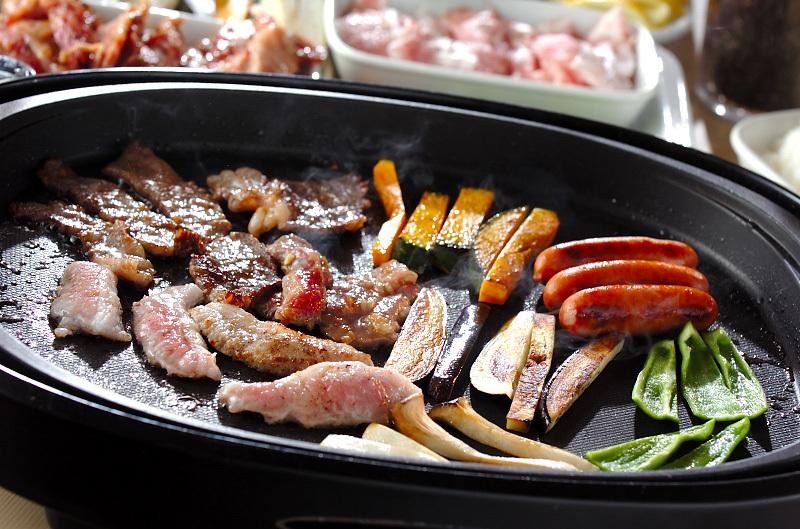 お肉で作ろう!焼肉手巻き寿司