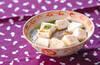 ハンペンキムチスープの作り方の手順