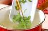ハンペンキムチスープの作り方の手順4