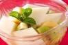 さっくりアンニン豆腐の作り方の手順