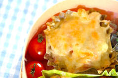 マカロニのチーズ焼き