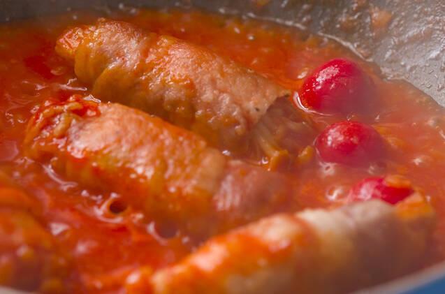 エノキロール煮の作り方の手順4