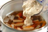 平天入り粕汁の作り方1