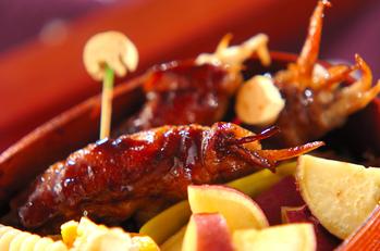 豚肉とゴボウのバルサミコ煮