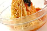 あめ色玉ネギ入りトマトの冷製パスタの作り方5