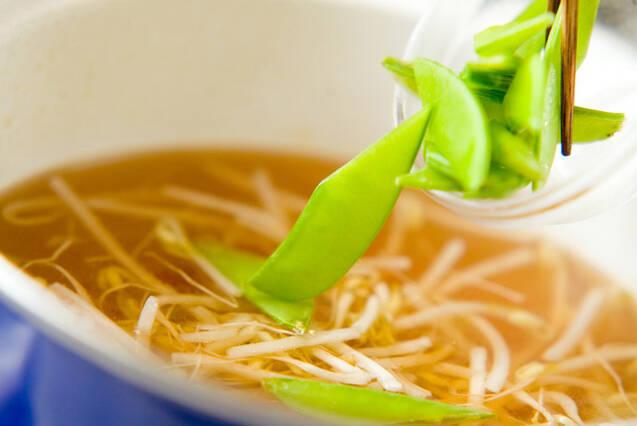モヤシの中華スープの作り方の手順3