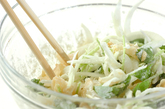 甘酢ショウガのかき揚げの作り方1
