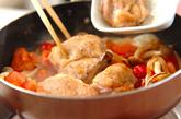 鶏肉とシメジのケチャップ煮の作り方3