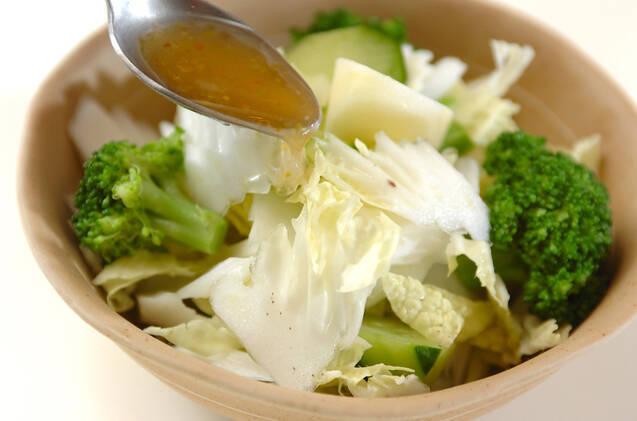 リンゴと白菜のサラダの作り方の手順6