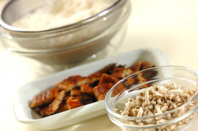 二度おいしい!ふっくらウナギ蒲焼きの炊き込みご飯の作り方の手順1