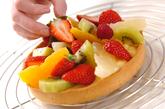季節のフルーツタルトの作り方11