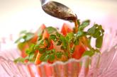 トマトとクレソンのサラダの作り方1